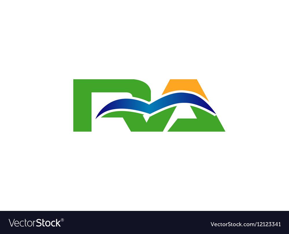 RA logo vector image