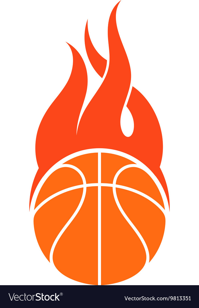 basketball logo royalty free vector image vectorstock