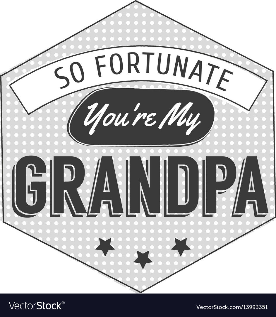 Isolated grandparents day quotes on the white