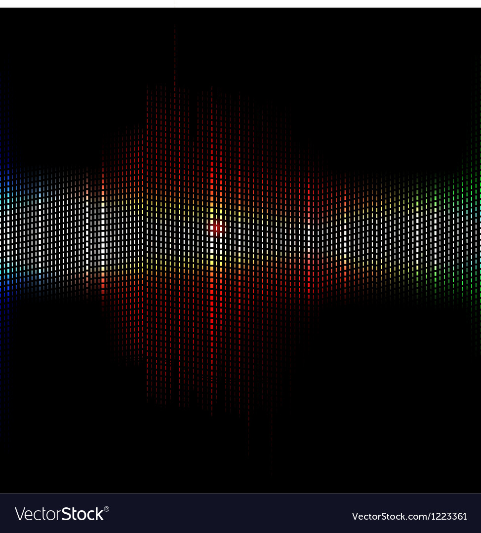Abstract background of colorful equalizer