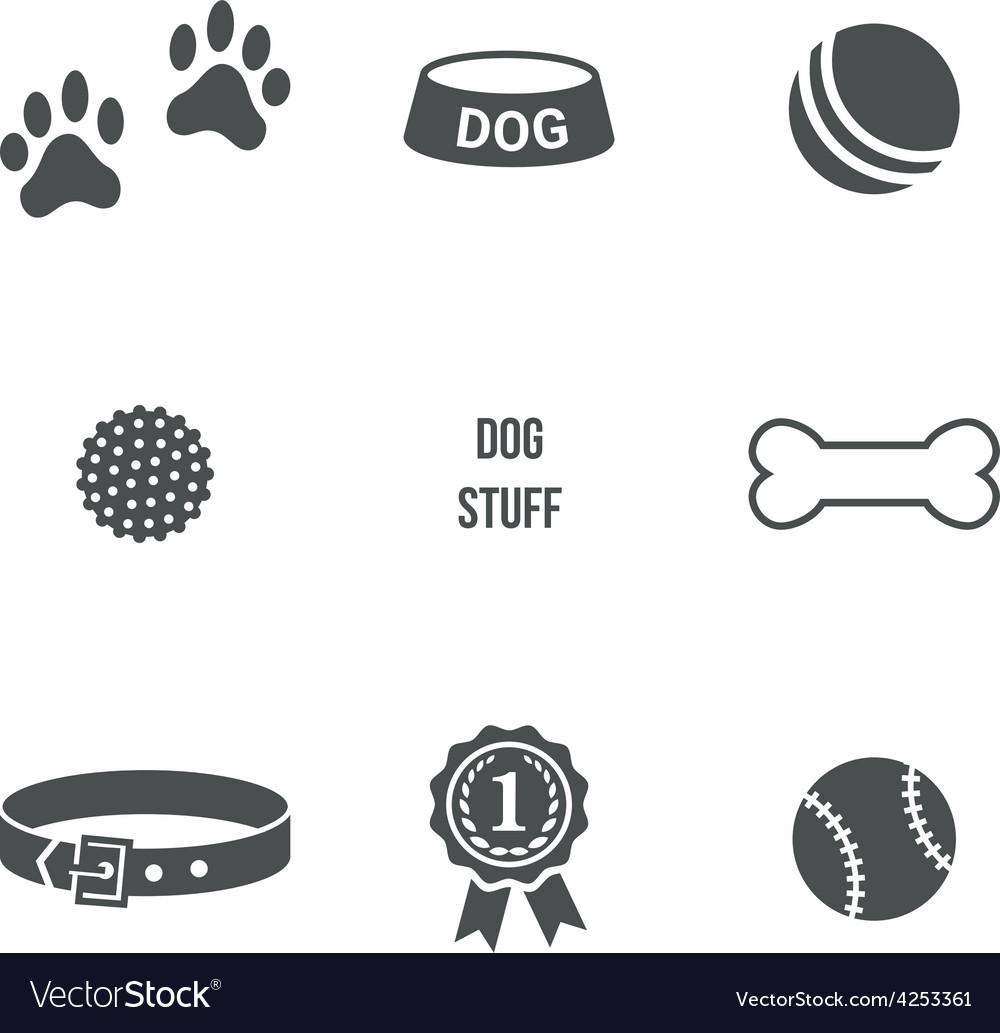 Dog stuff set