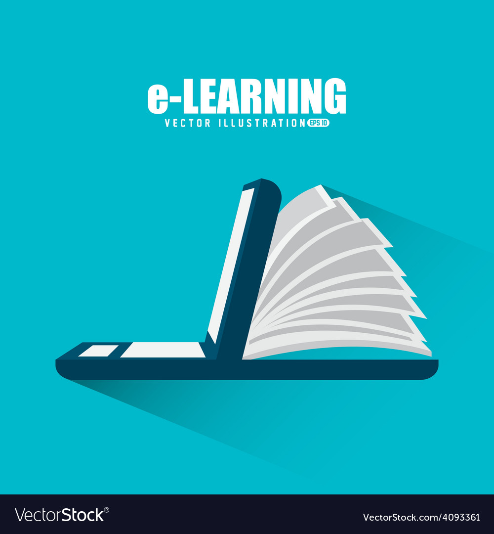 E Learning Royalty Free Vector Image Vectorstock