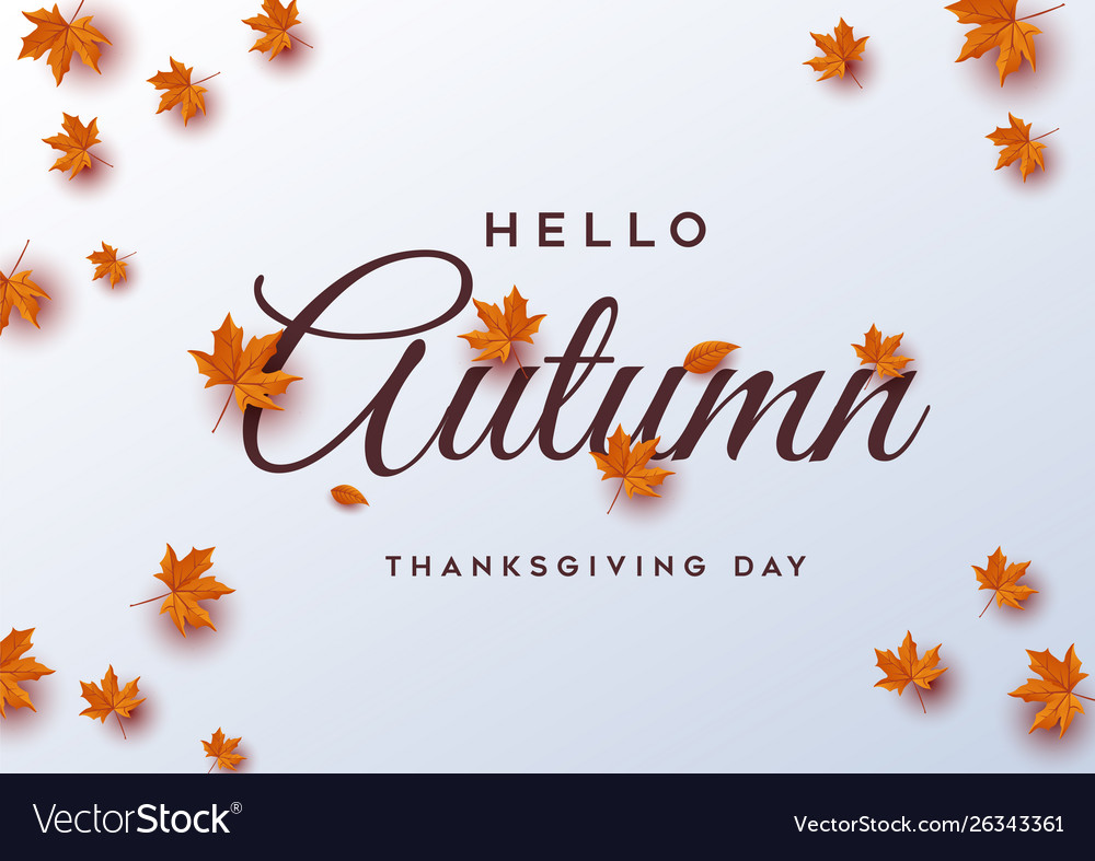 Thanksgiving day banner background greeting card