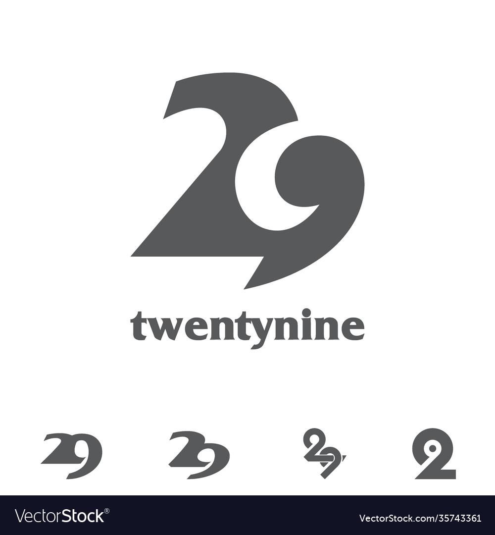 Twenty nine symbol bundle set