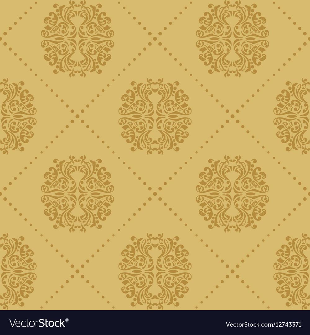 Baroque vintage seamless background