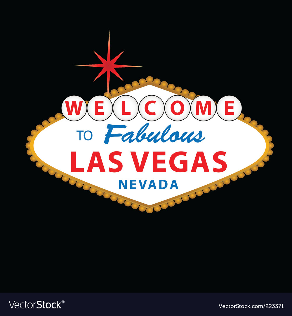 welcome to las vegas sign vector. las vegas sign vector free.
