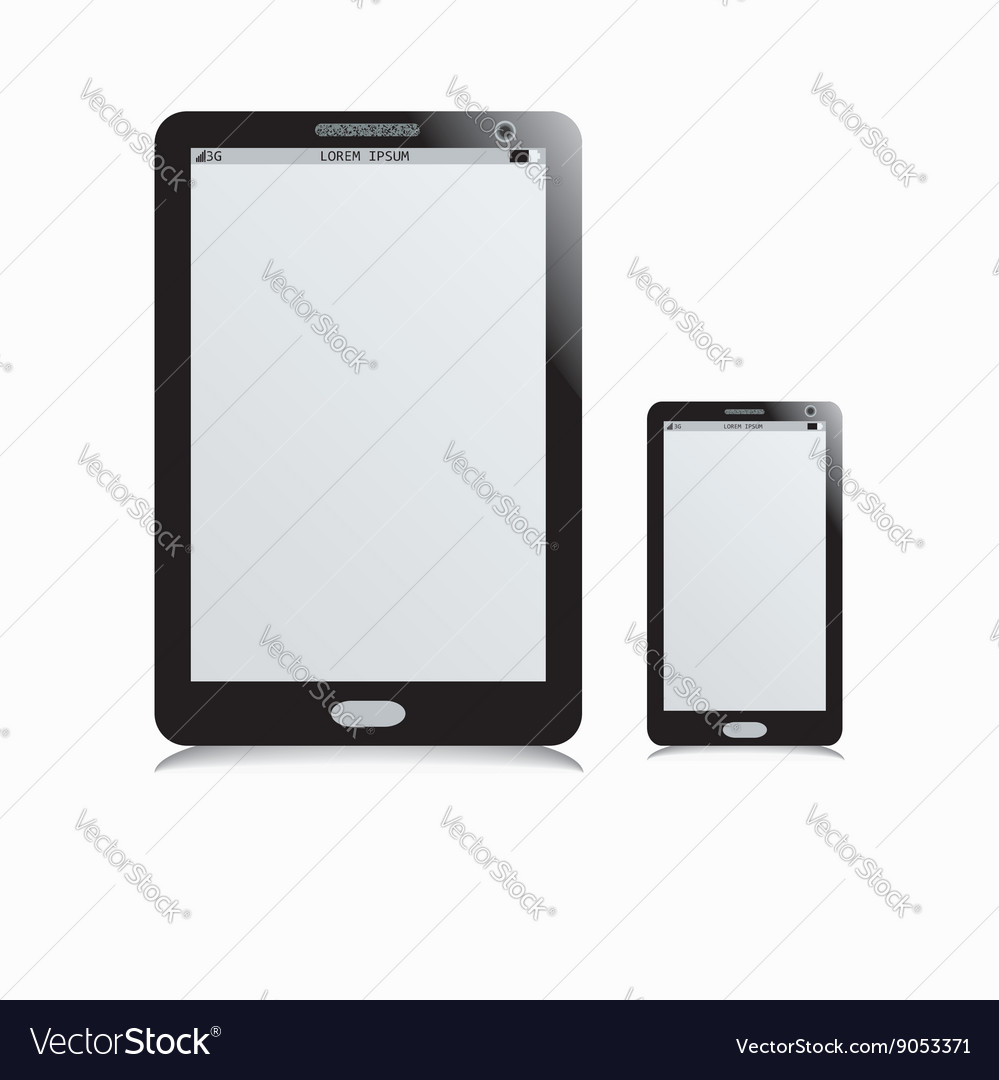Mobile phone and tablet
