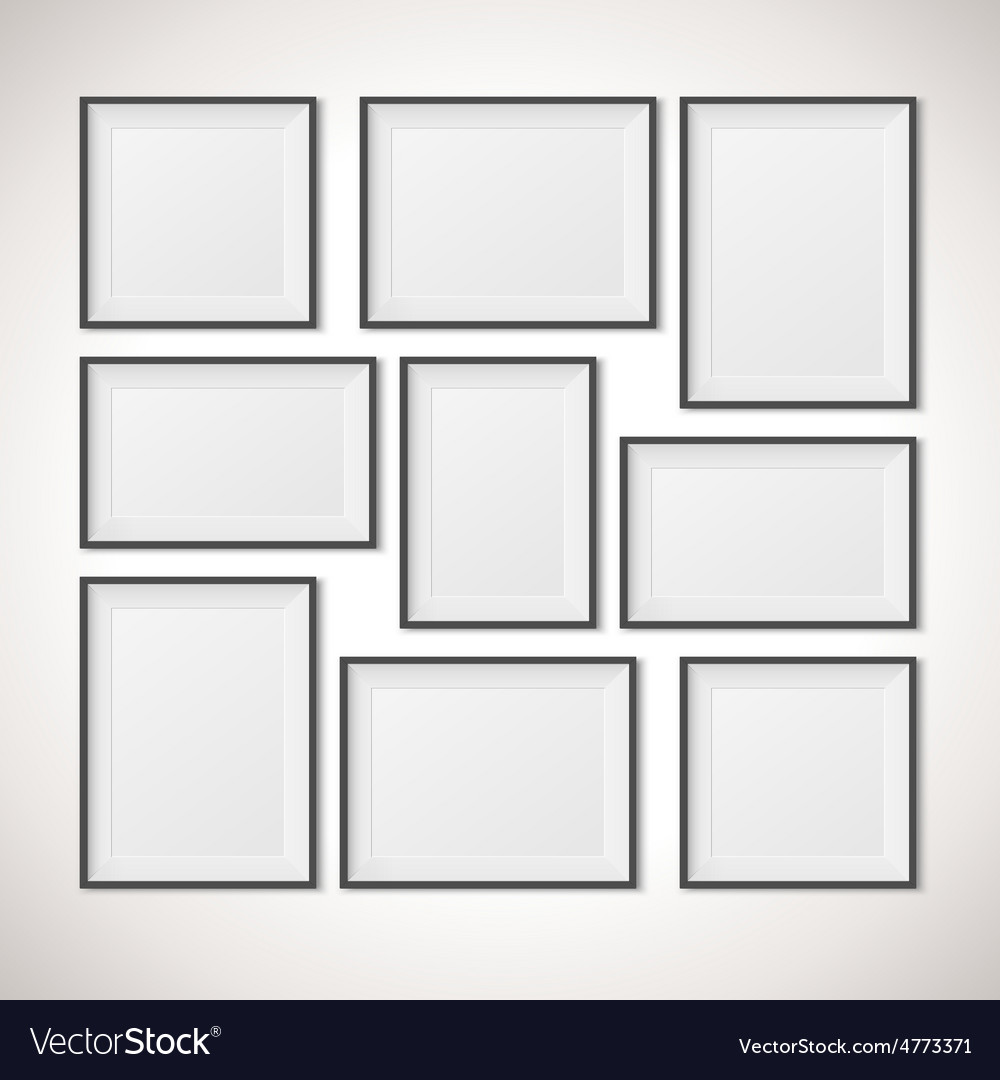 Multiple Frames Royalty Free Vector Image Vectorstock