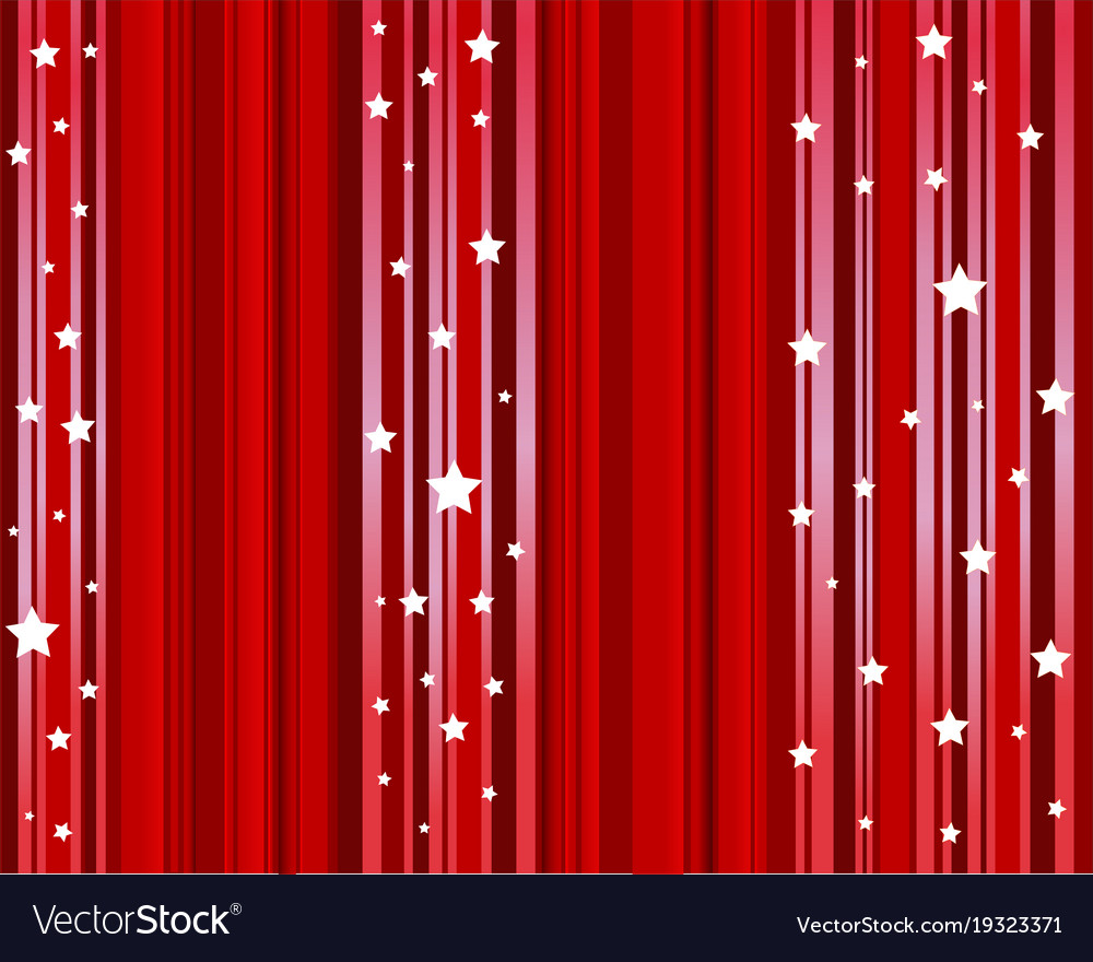 Theater Curtain Background Movie Vector Image
