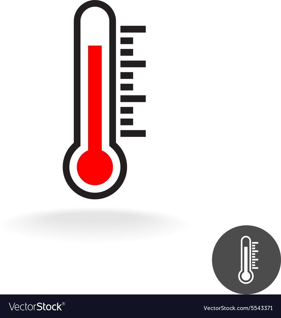 Thermometer scale sign