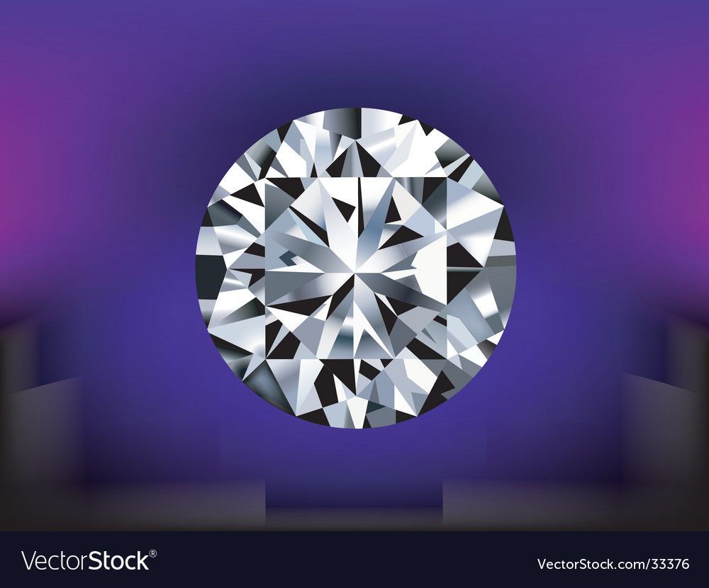 Detailed diamond