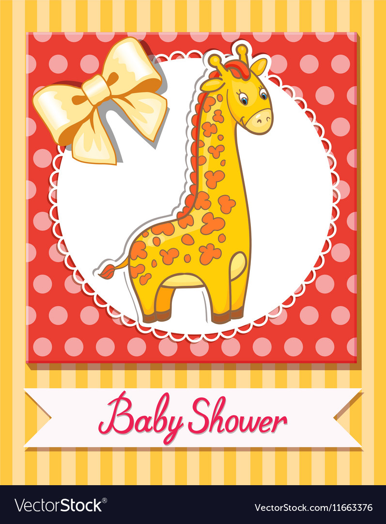 Giraffe baby cartoon