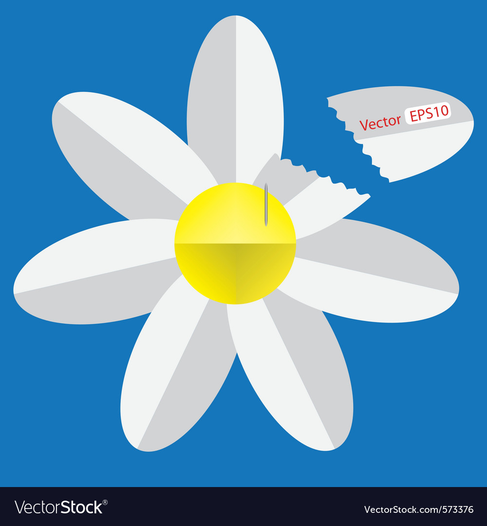 Paper Origami Flower Royalty Free Vector Image