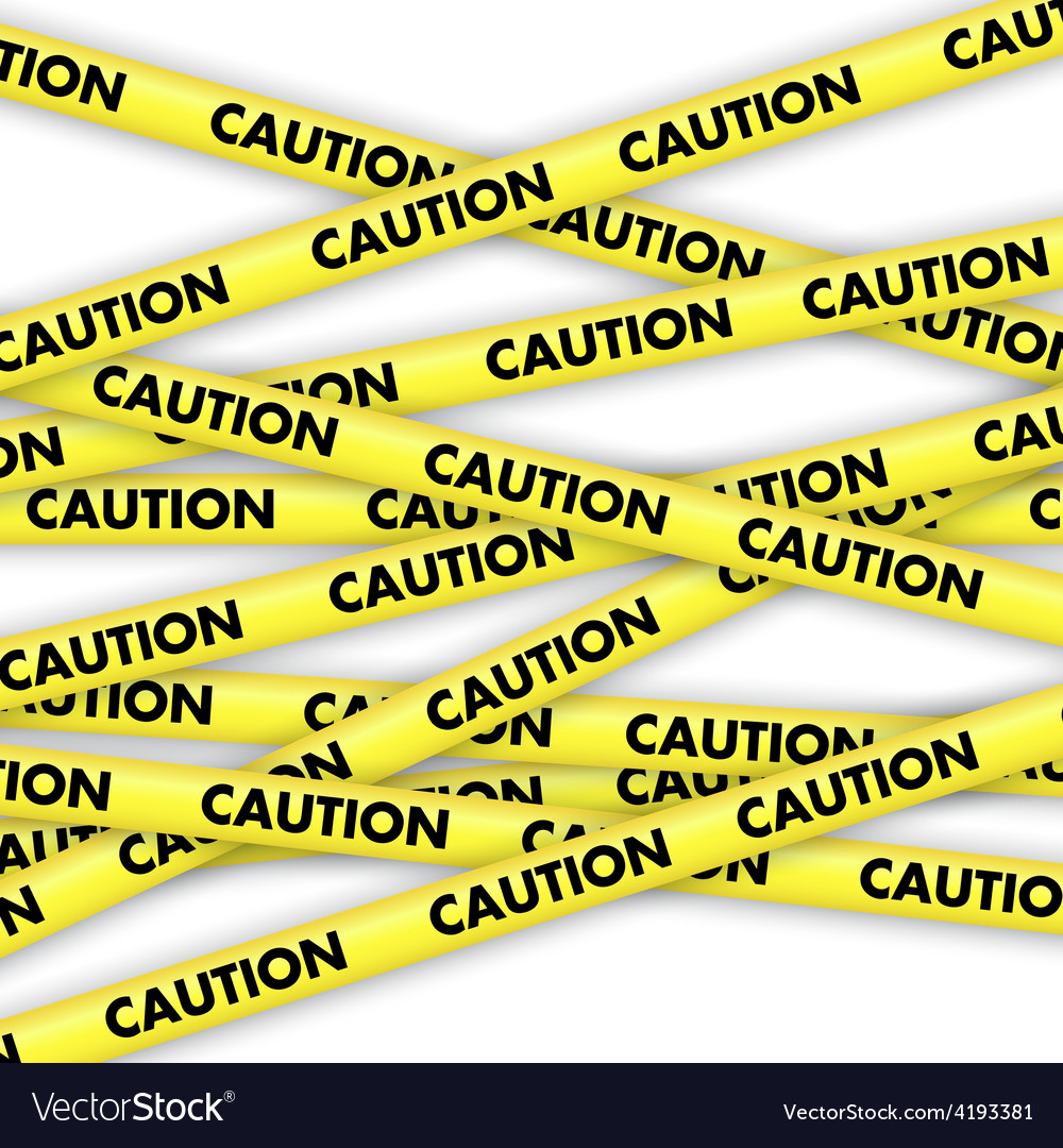 caution tape royalty free vector image vectorstock rh vectorstock com caution tape border vector caution tape vector art