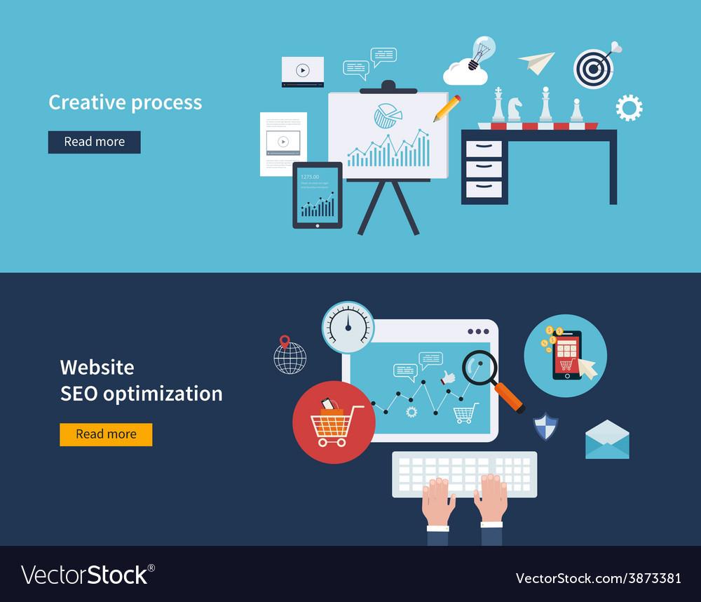 Creative process and SEO
