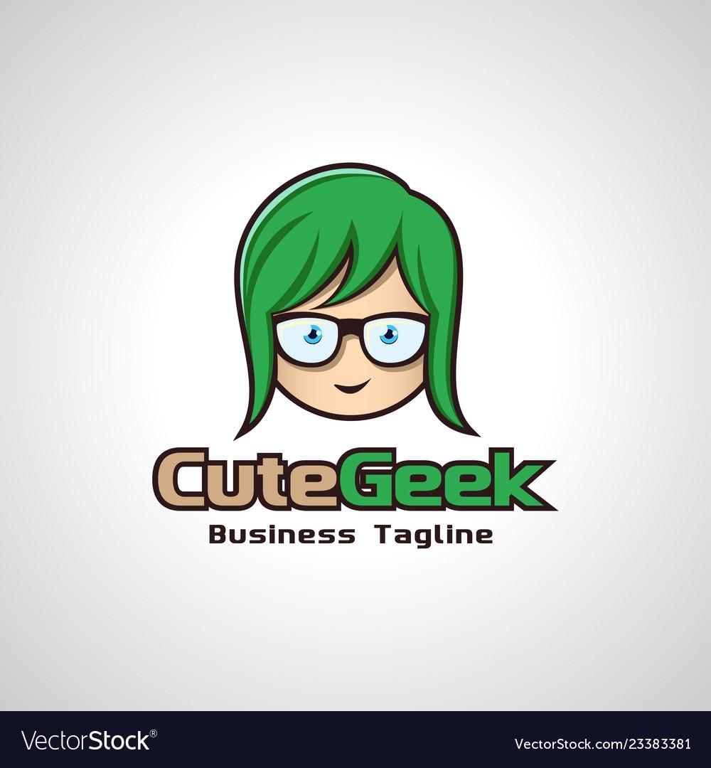 Cute geek image
