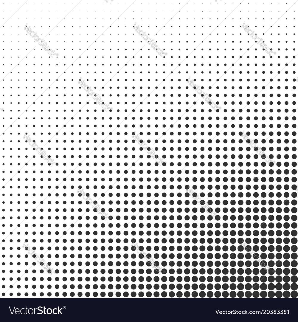 Halftone gradient effect background