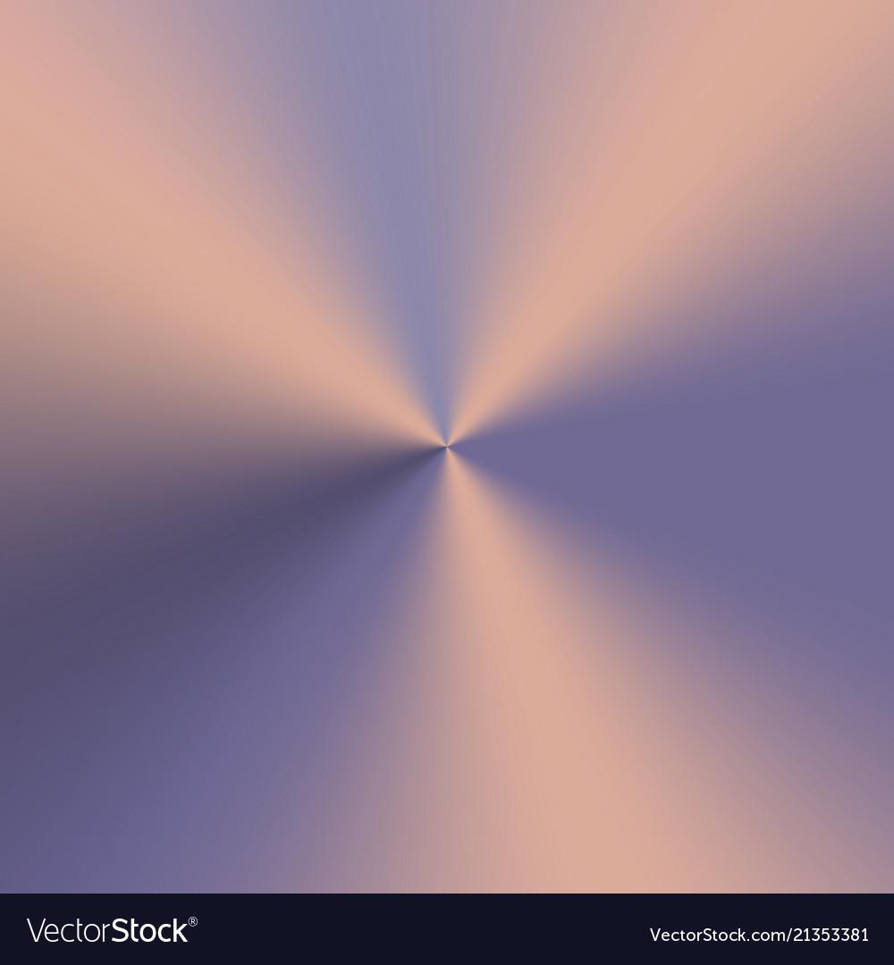 Metallic conical gradient