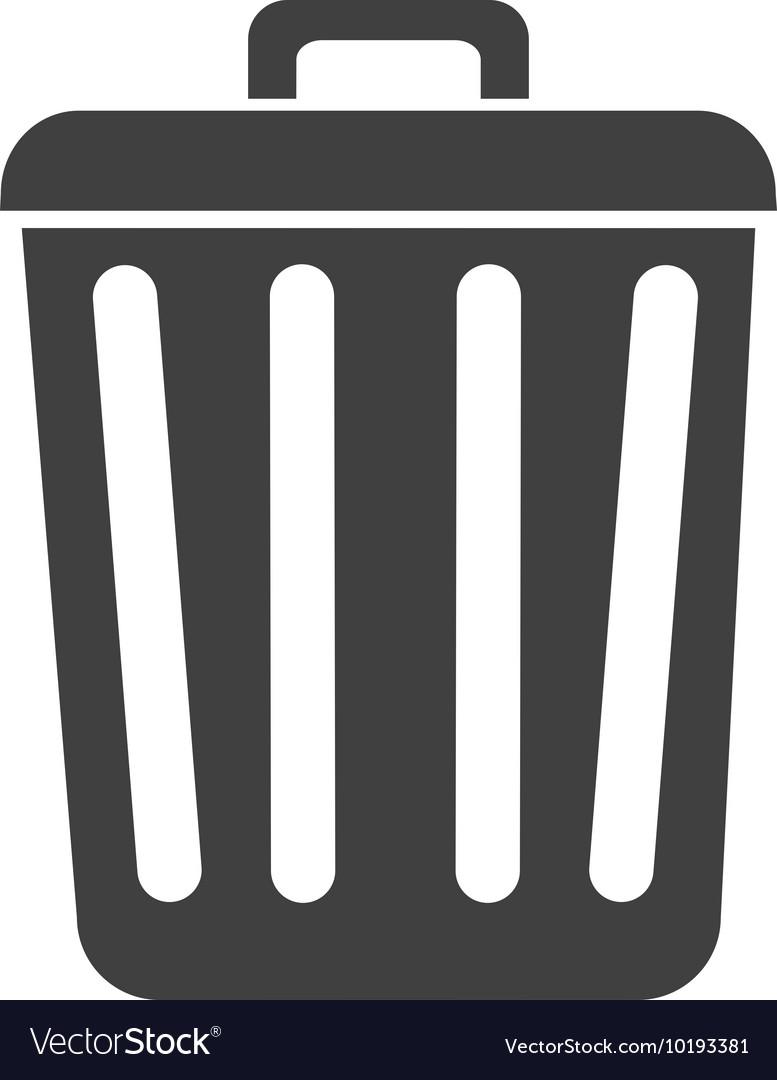Recycle Bin Trash Can Icon Symbol Vector Royalty Bintrash