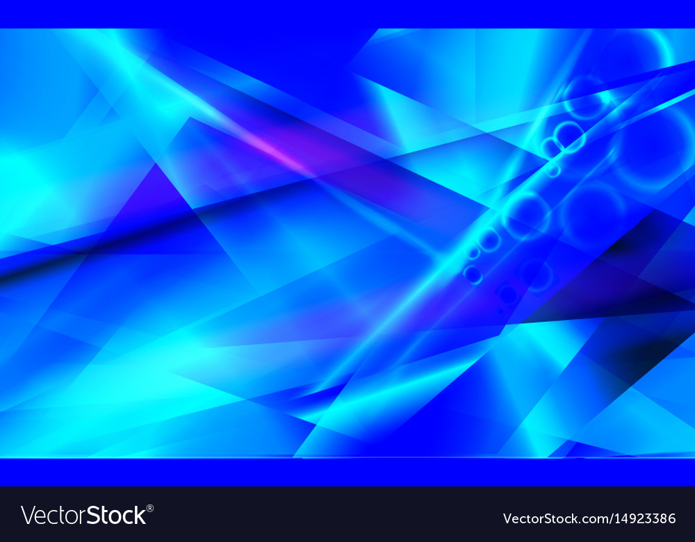 Blue futuristic abstract background