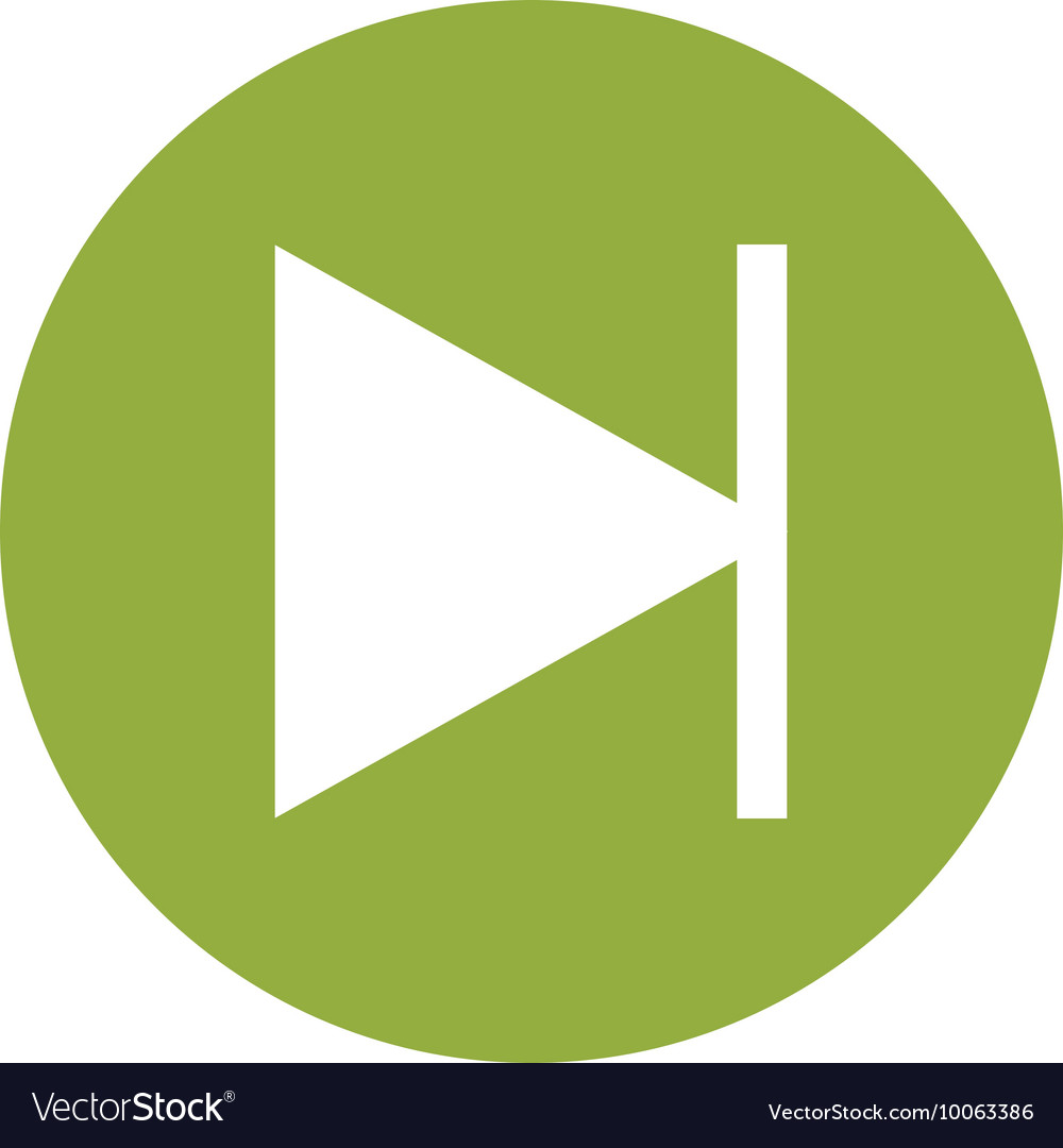 Next music sign icon