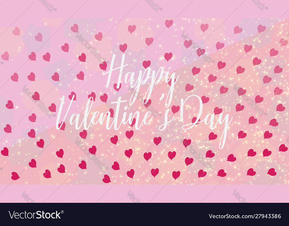Slogan happy valentines day invitation