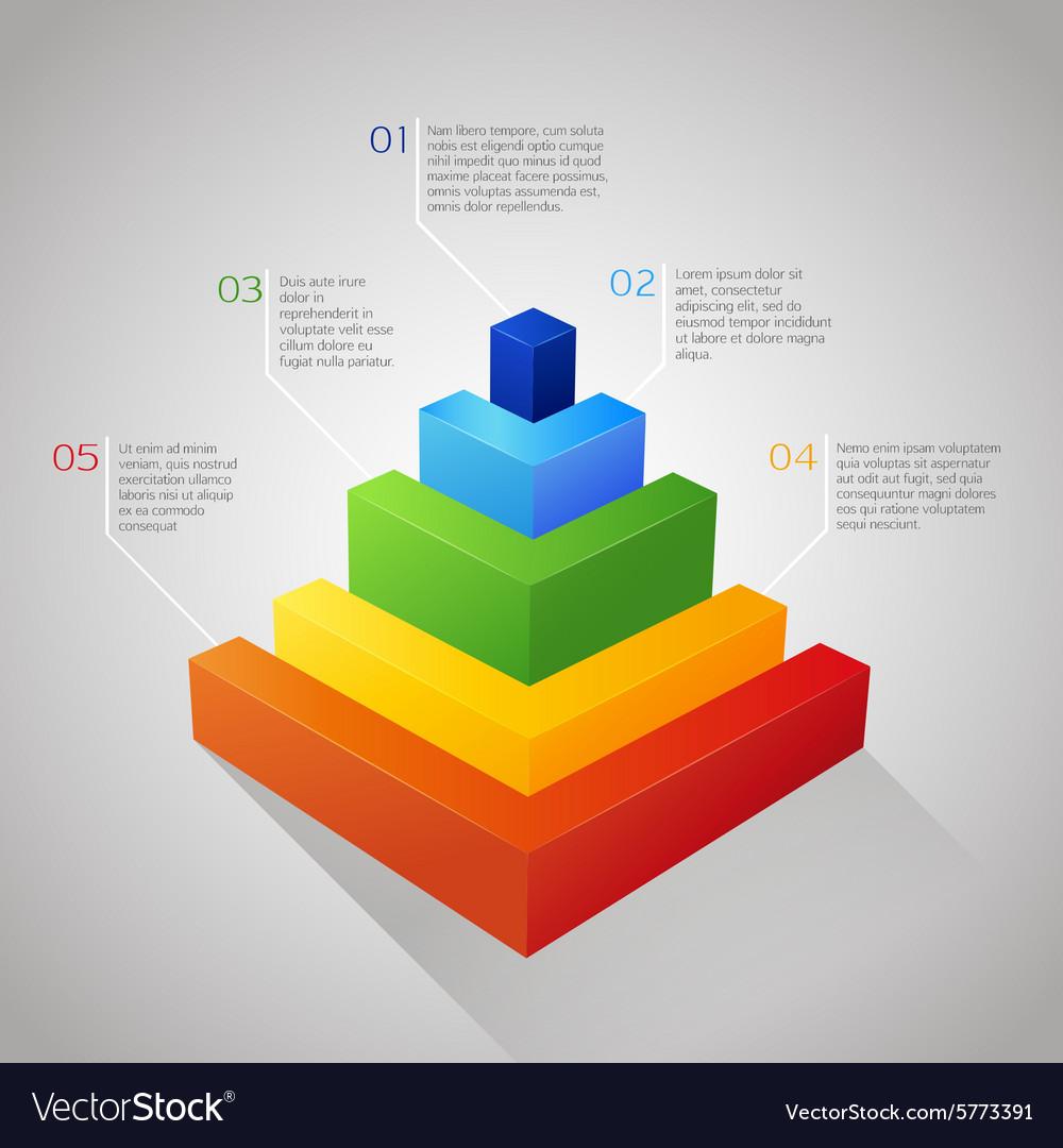Bar colorful diagram