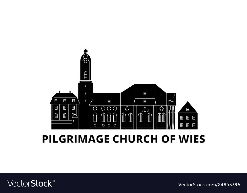 Germany steingaden pilgrimage church of wies