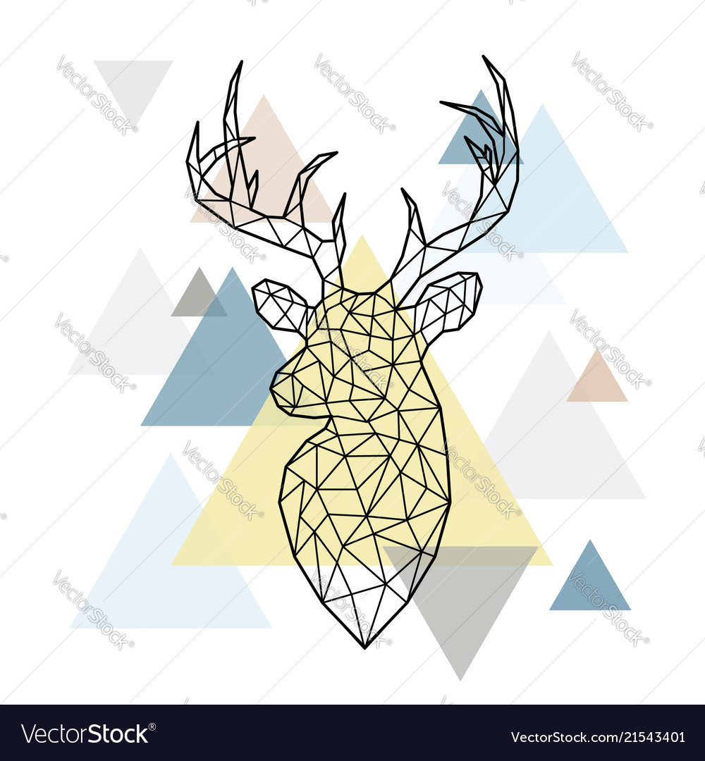 O Deer VectorStock