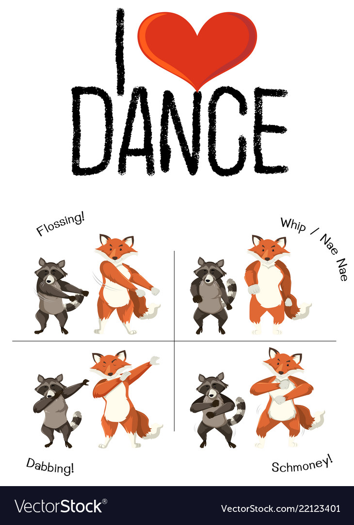 Animals and dance move