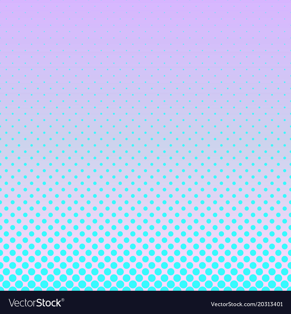 Geometrical gradient halftone circle pattern