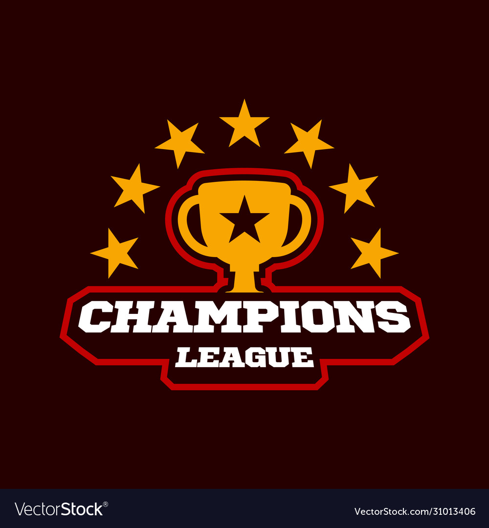 Champion gold cup sports league logo