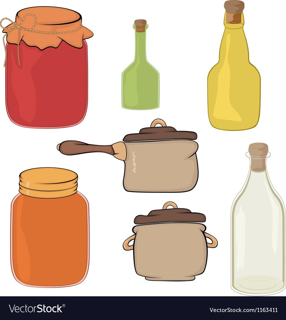 Kitchenware vector image