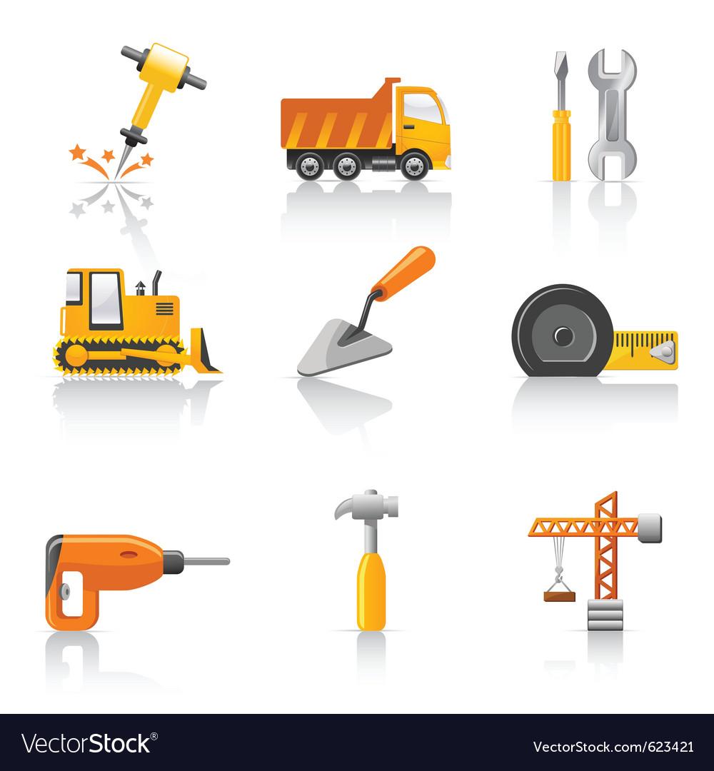 Construction tools vector art - Download vectors - 623421