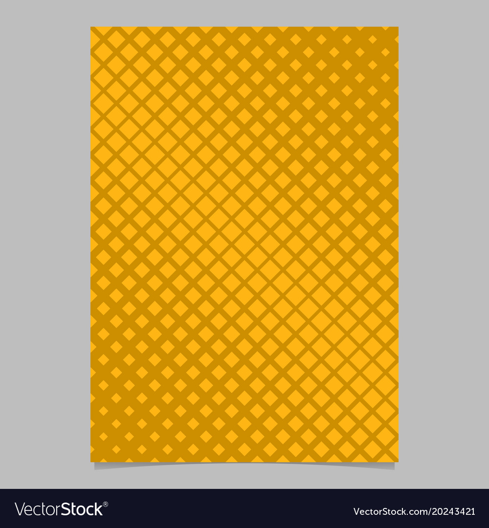Geometrical abstract halftone diagonal square vector image