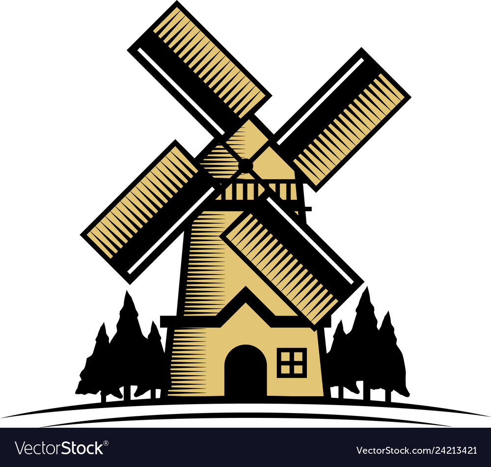 Windmill logo design inspiration