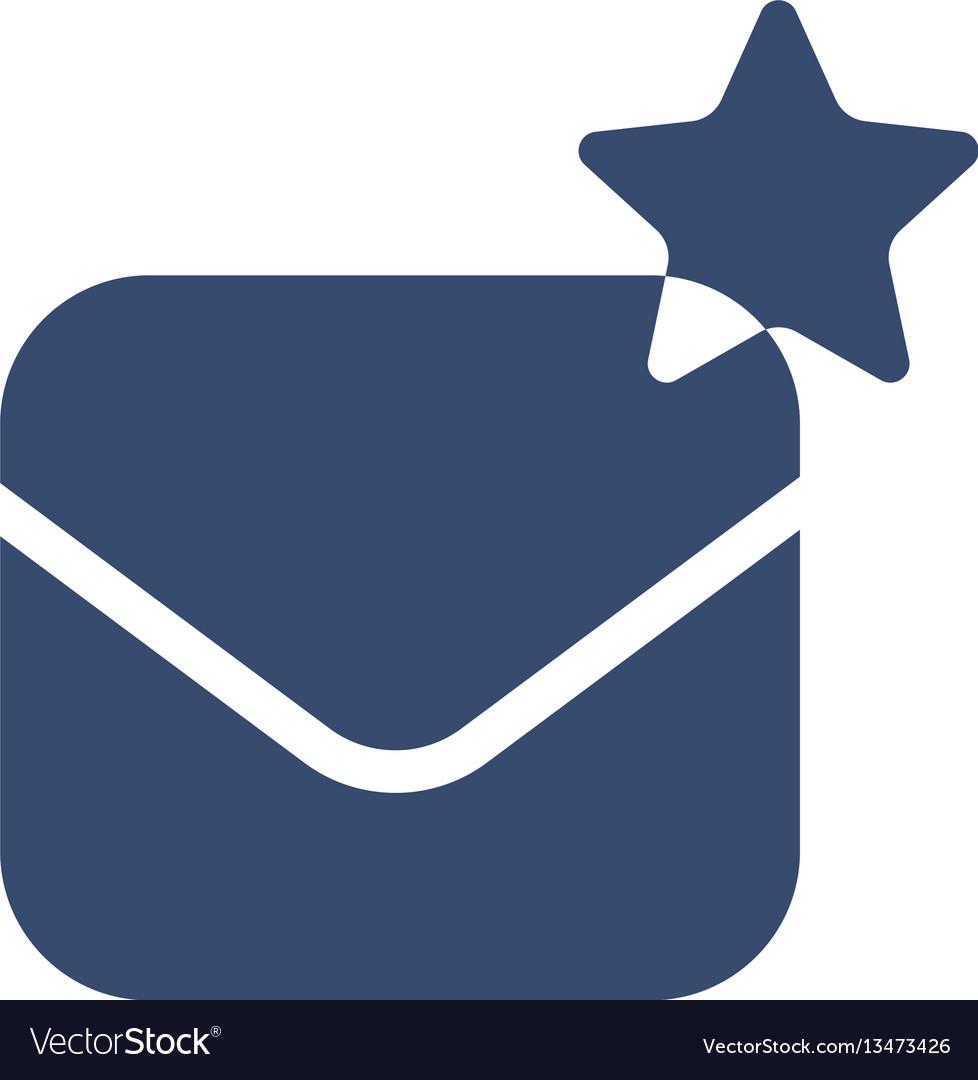 Envelope icon envelope creating logo vector image