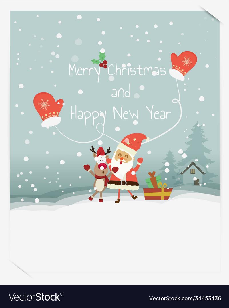 Happy holidays warm wishes creative hand drawn