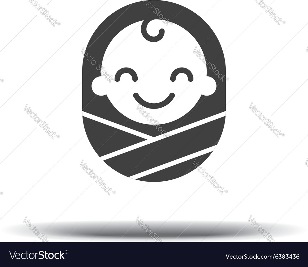 Logo design baby cheerful joyful kid Logo design