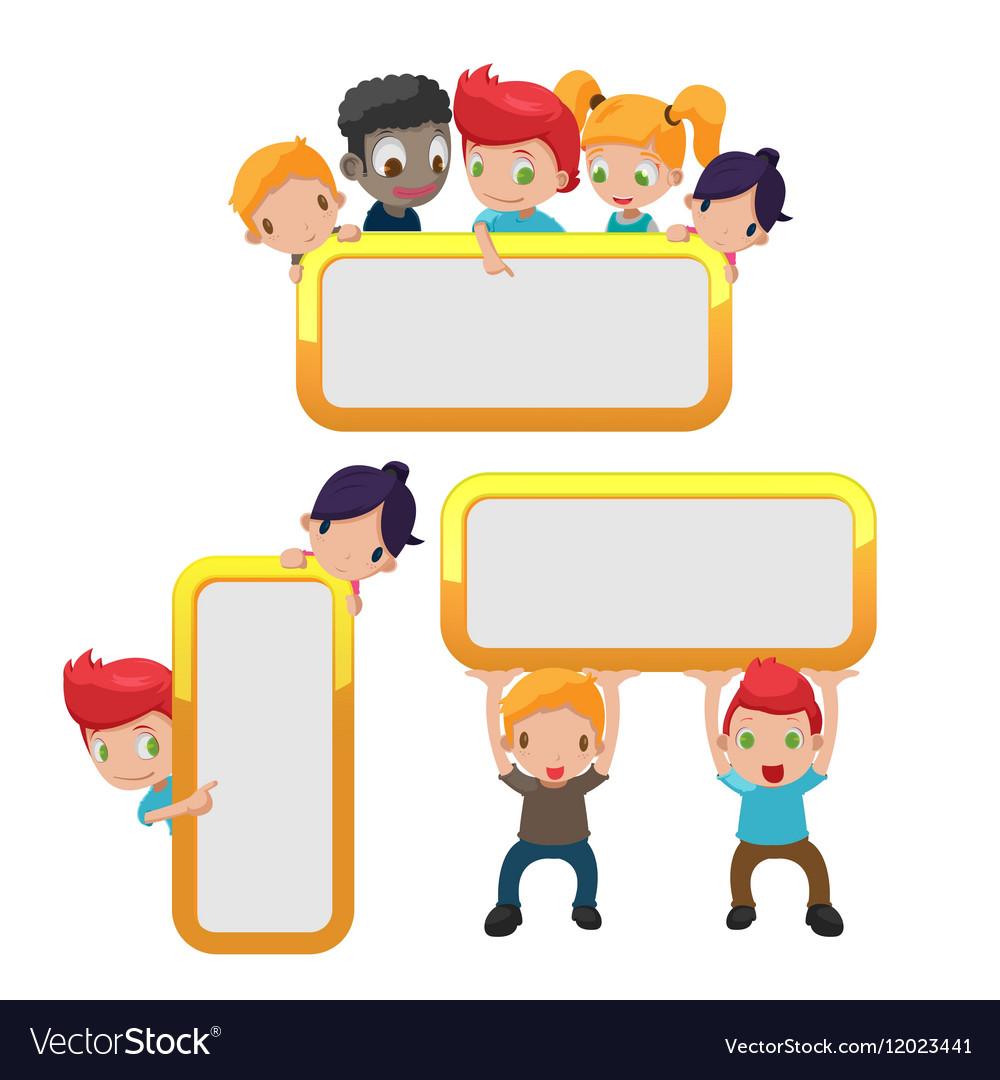 Cartoon Kids Cute Frame Border