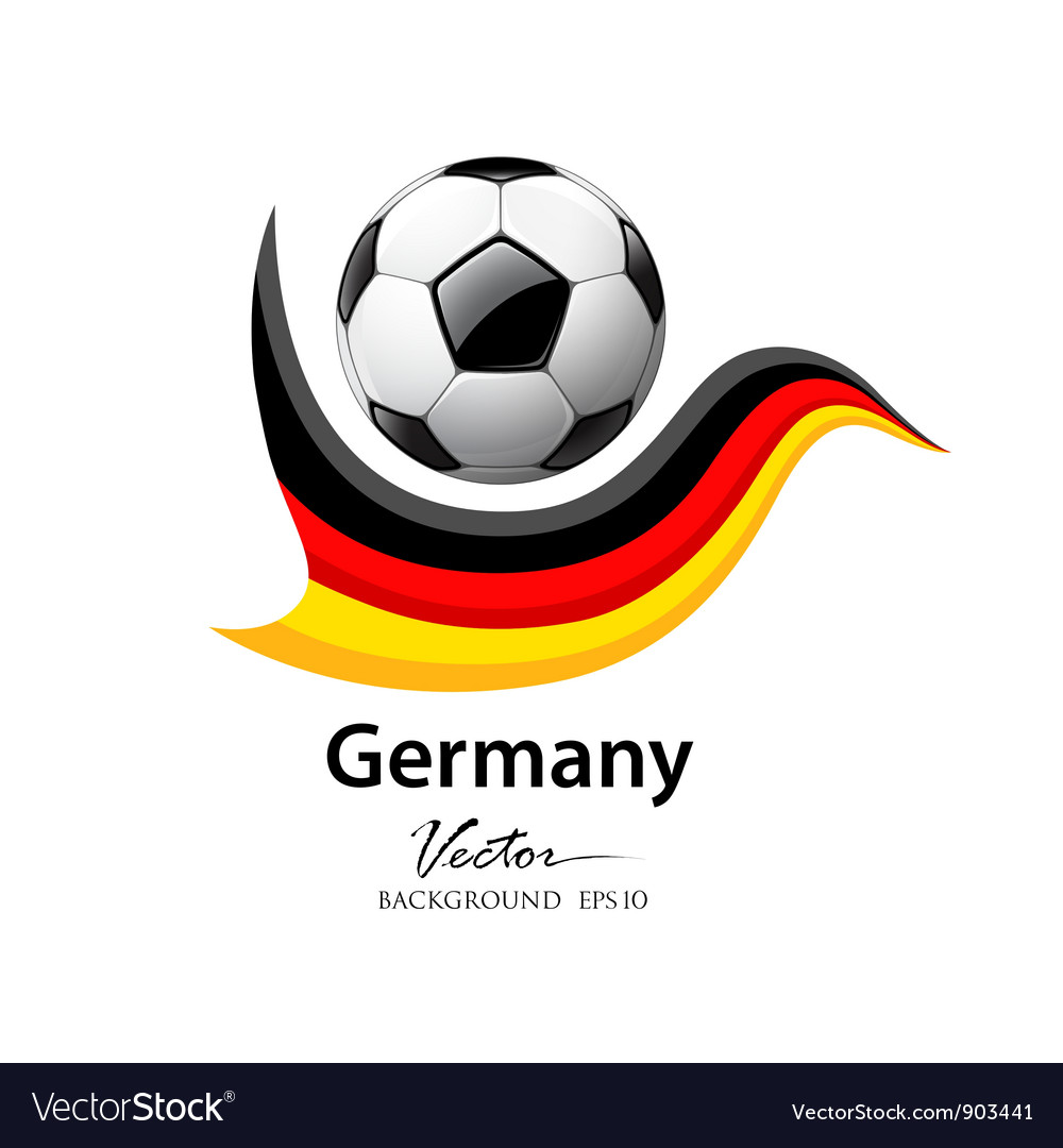Football Team Germany Royalty Free Vector Image