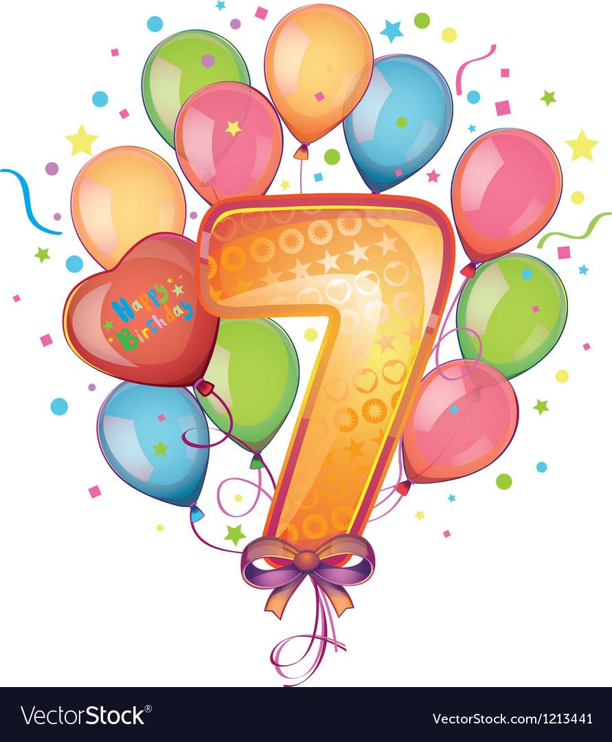 Happy birthday seven