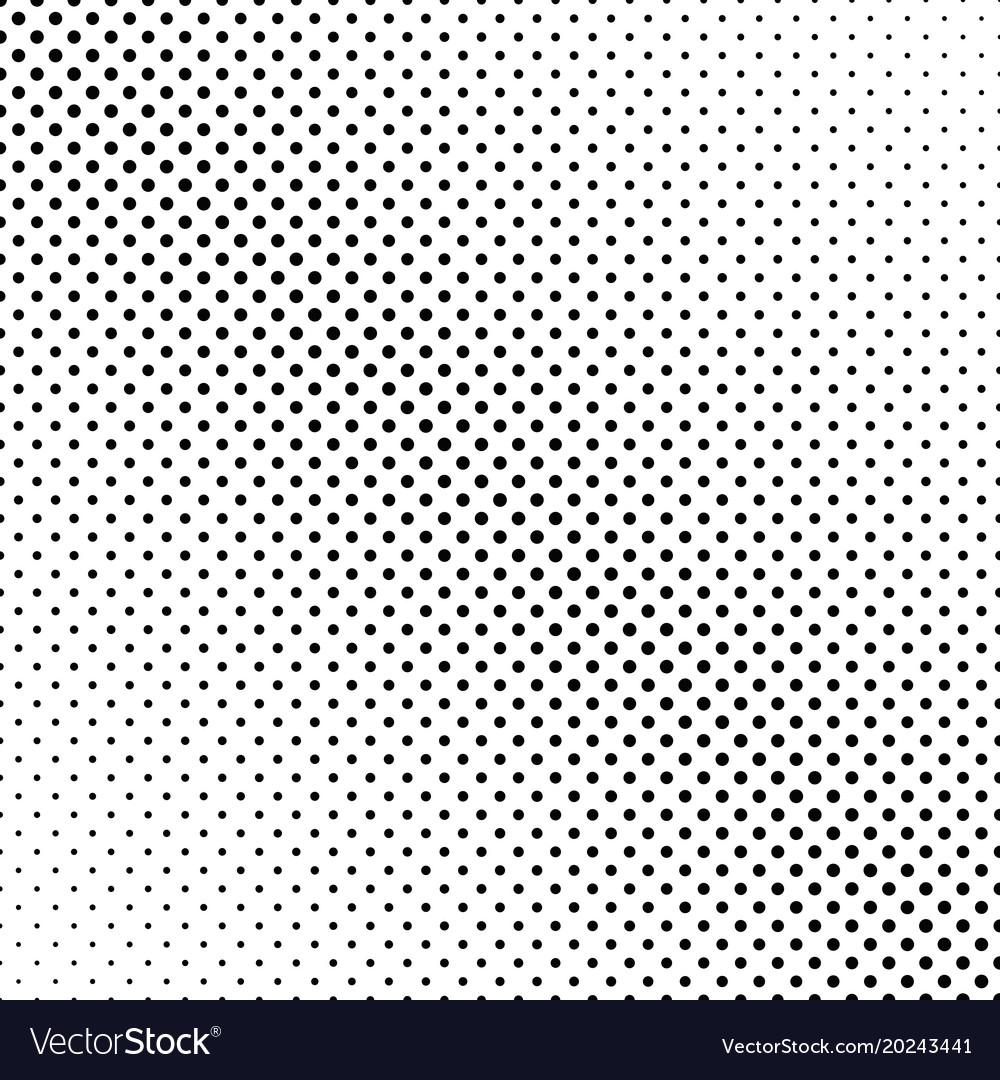 Retro halftone circle pattern background - design vector image