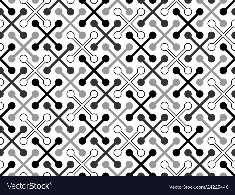 Seamless pattern abstract hipster