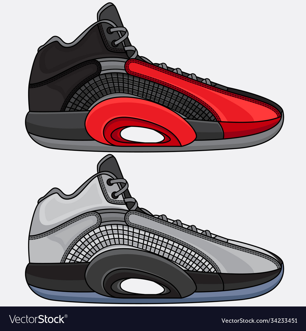 Fashion sports basketball shoes