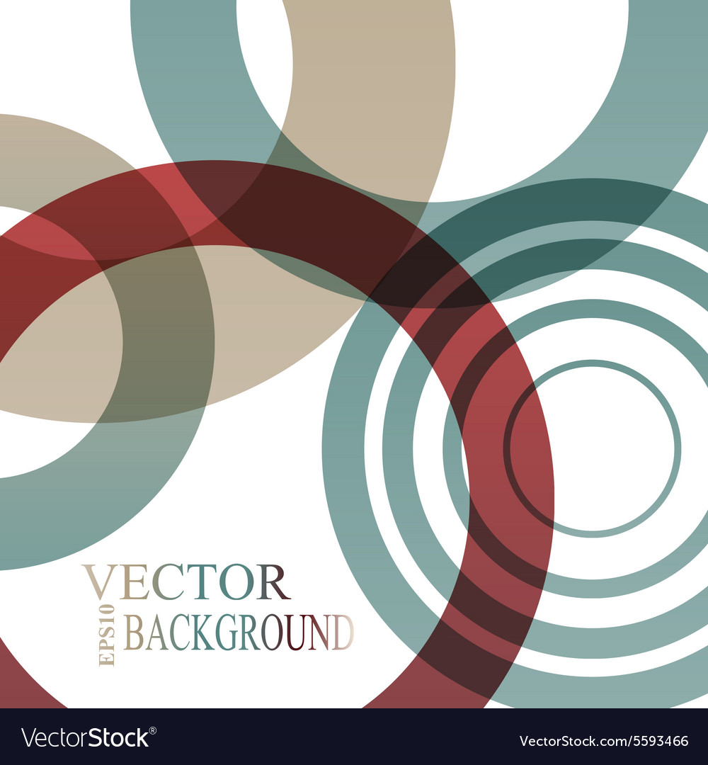 Abstract shapes background colorful vector image