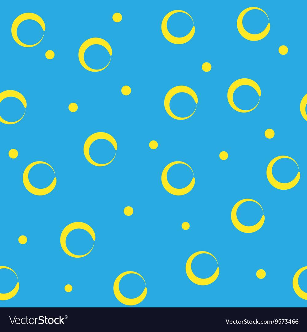 Circle abstract yellow