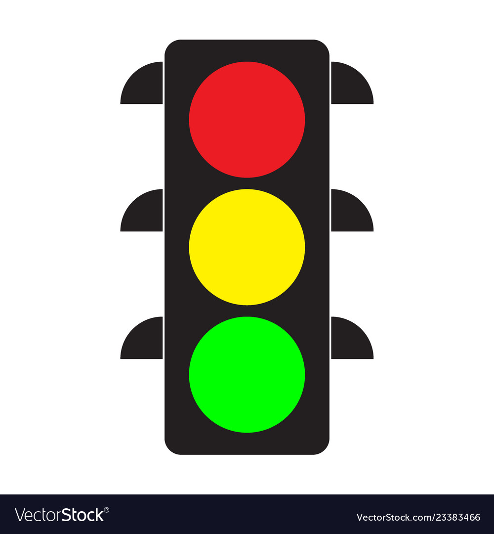 traffic light royalty free vector image vectorstock vectorstock