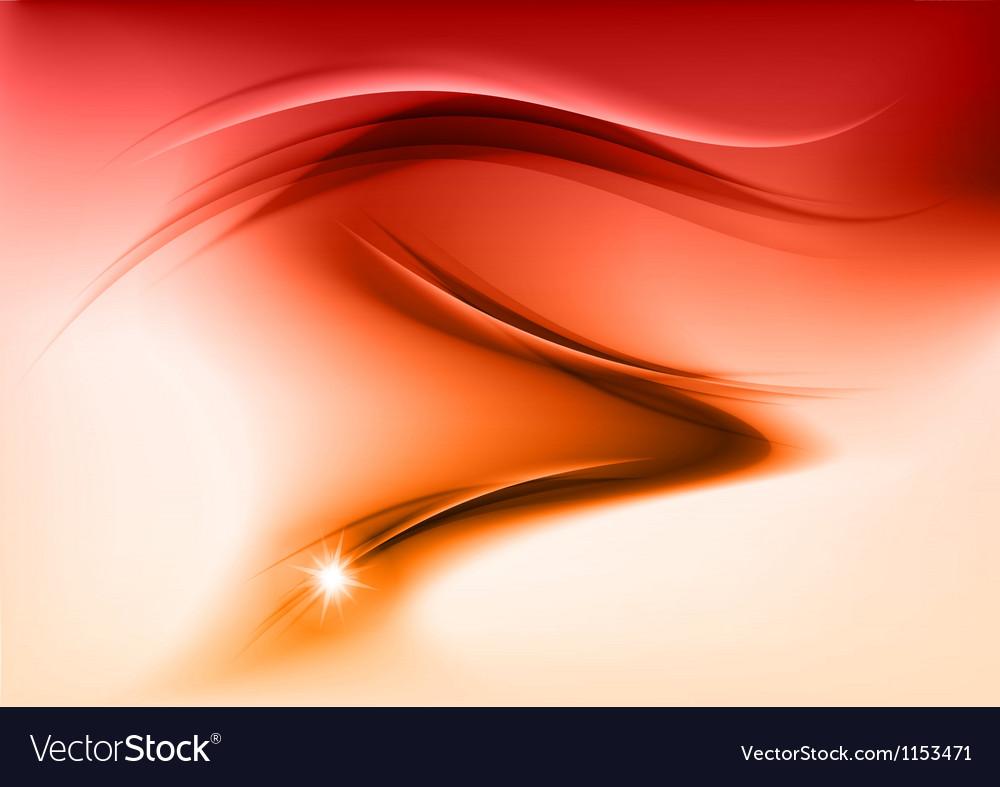 Abstract smoke orange