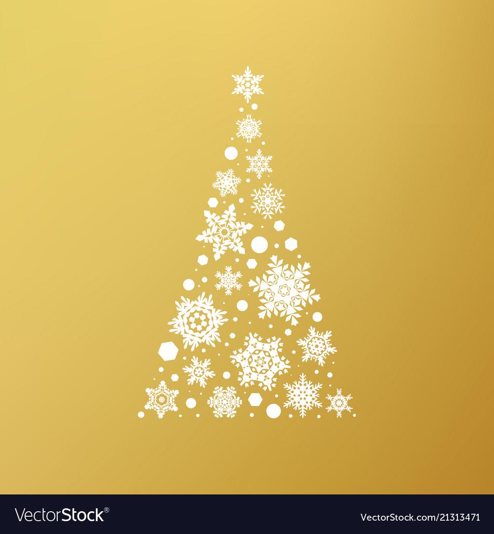 Stock abstract christmas tree